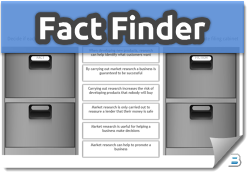 Fact Finder Activity