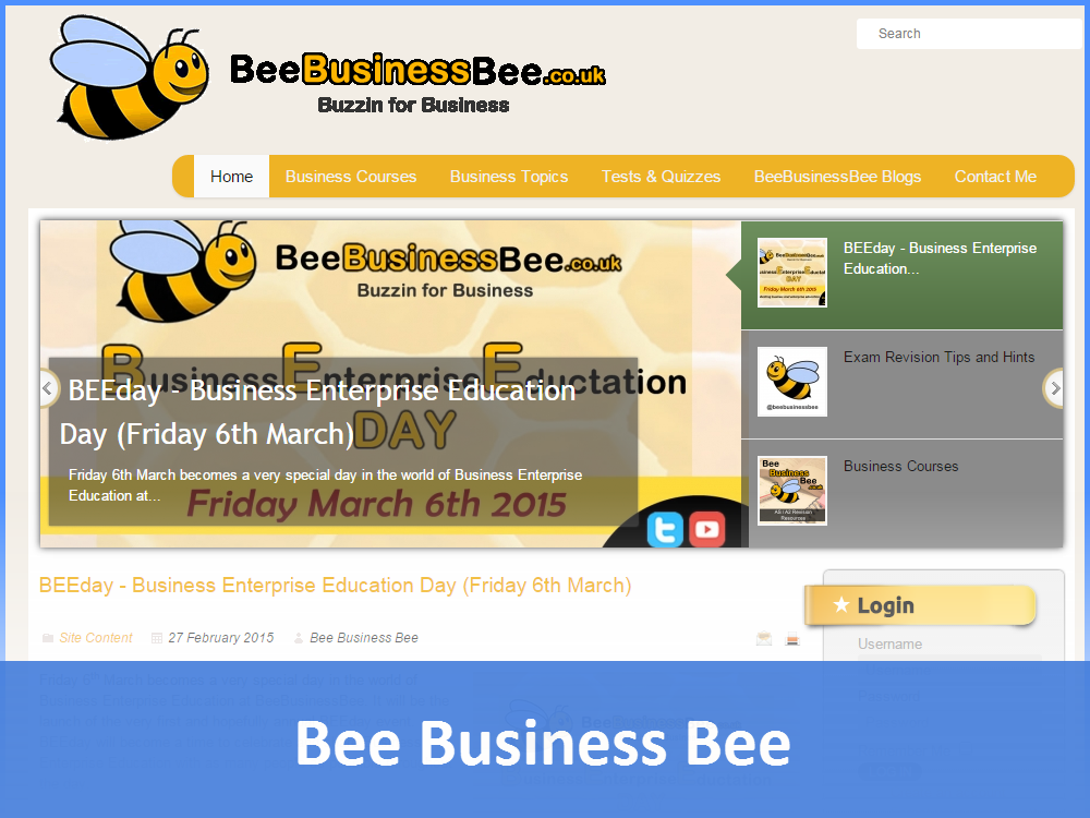 Bee Business Bee