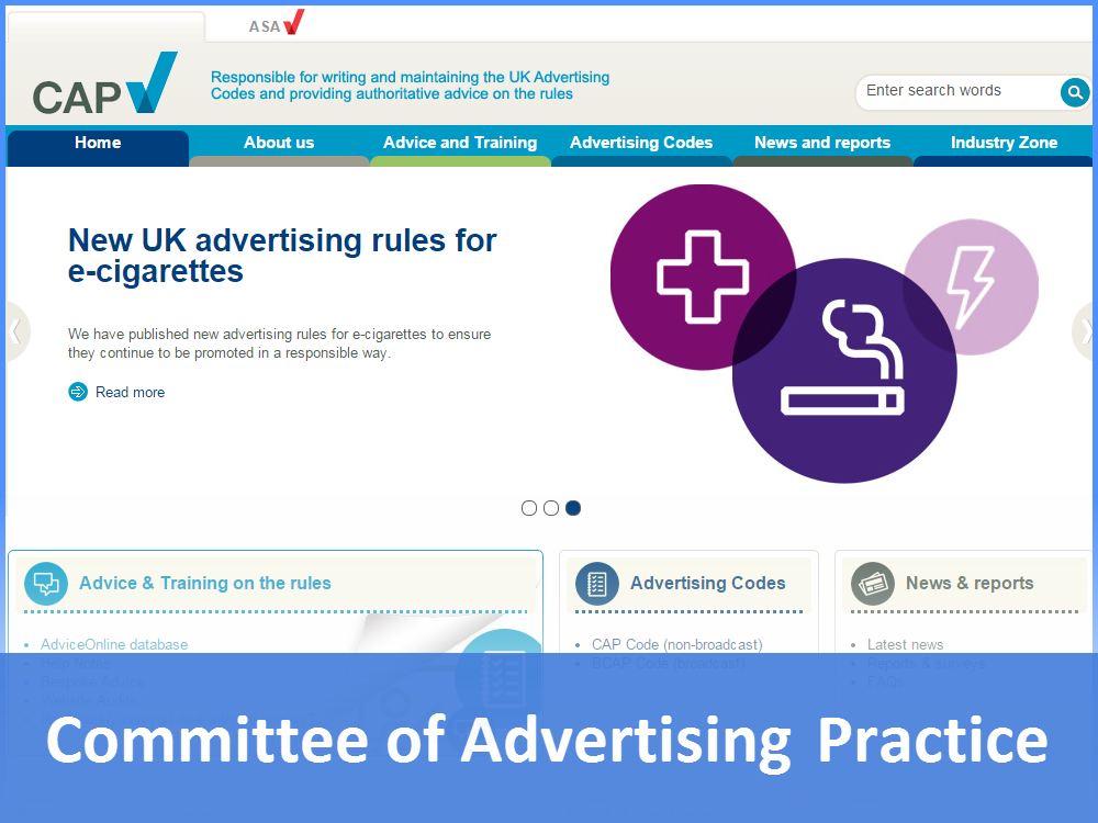 Committee of Advertising Practice