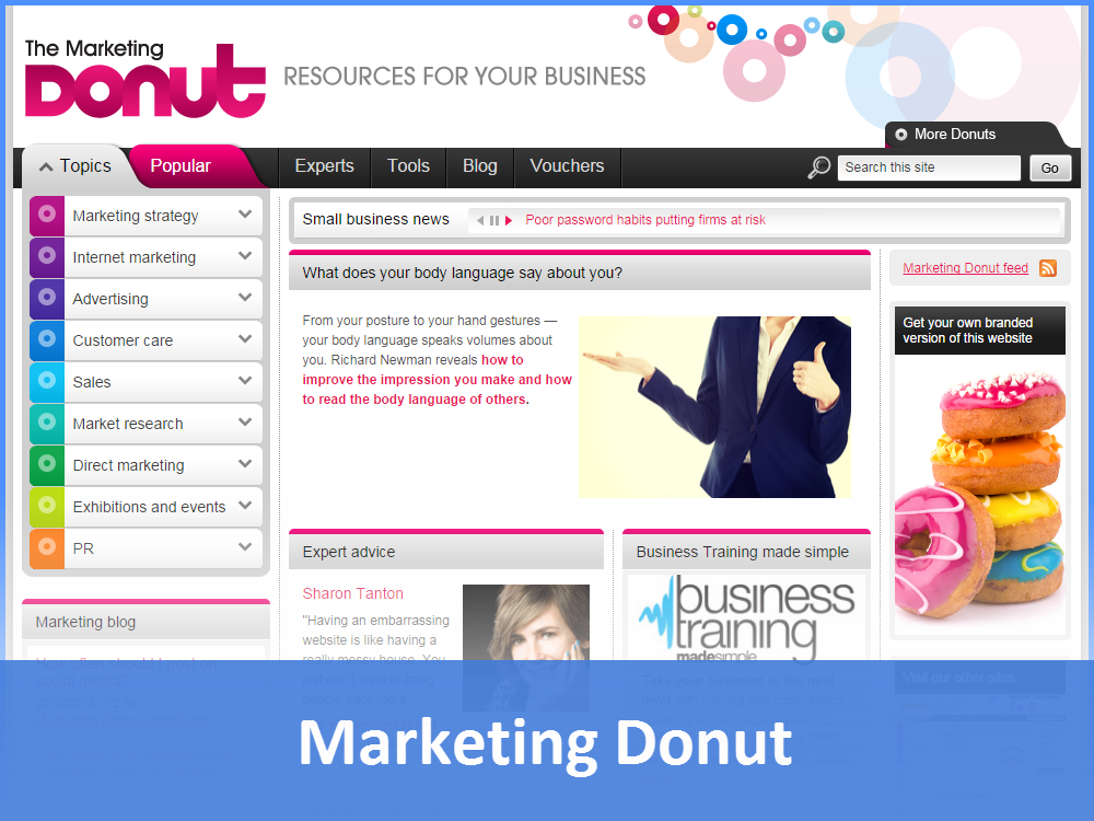Marketing Donut
