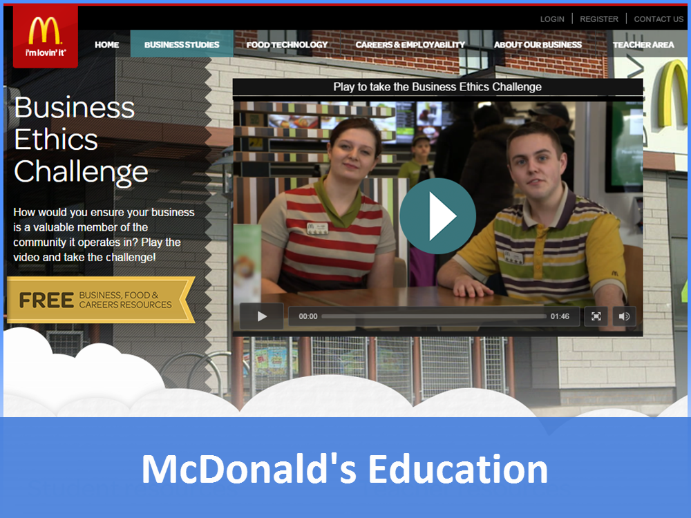 McDonalds Education