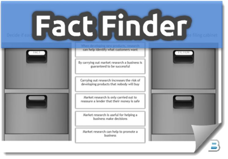 Fact Finder Activities